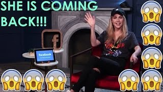 CLAIRE HOLT | COMING BACK TO THE ORIGINALS AS SERIES REGULAR | LIVE Q&A