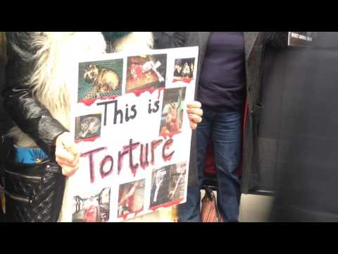 Fur Protest - London Fashion Week - 19.02.17
