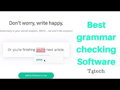 How to correct punctuation of essay / article / speling check grammar check software