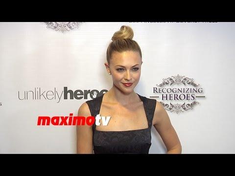 Courtney Hope Turner   2014 Unlikely Heroes Awards Gala   Red Carpet