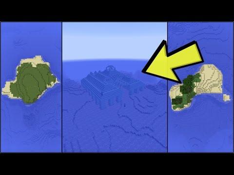Ocean Monument Spawn SEED | Minecraft 1.11