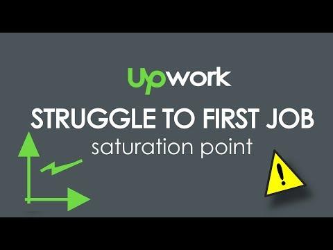 Struggle To First Job   Saturation point   Freelance   Upwork