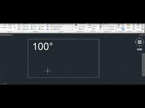 Adding Symbols to text-1 in Autocad