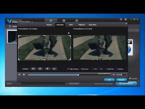 Comment convertir une vidéo AVI à un format iTunes compatible?