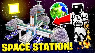 How to BUILD a SPACE STATION in MINECRAFT!
