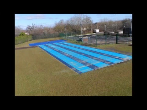 KS3 + KS4 Schools Compact Athletic Facilities Installation Denbigh