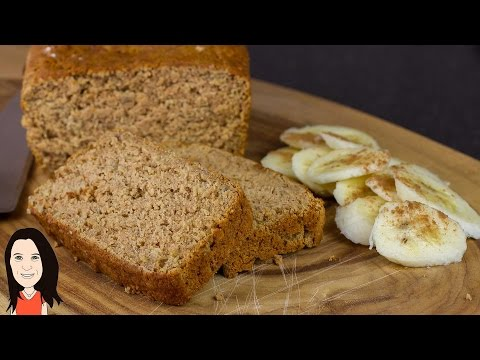 Gluten Free Banana Bread - Vegan Recipe (No eggs, Dairy or Oil)!