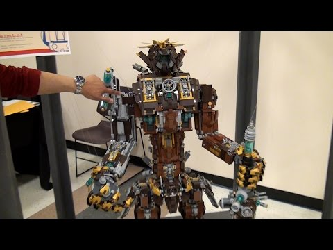 Giant LEGO Continuum Shift robot - Pacific Rim + Metal Beard – BrickCon 2015