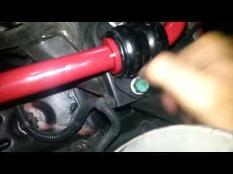 ✓ Front & Rear Sway Bar Install (2013 Hyundai Genesis Coupe)