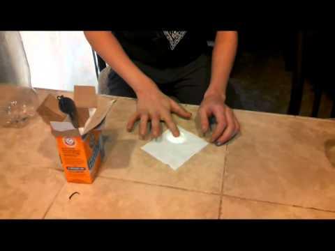 Chemical Reaction Project Baking Soda + Vinegar Fueled Bottle Rocket