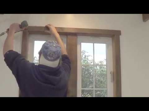 How To Trim out a Window the Old School Way