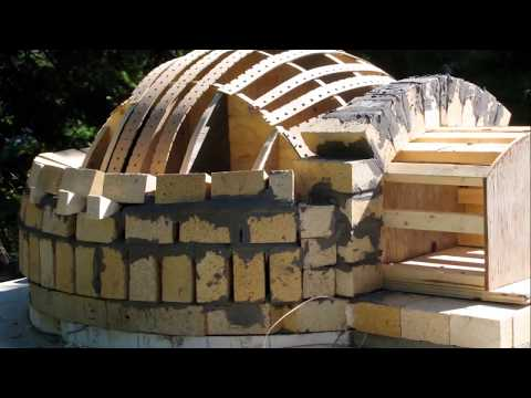 Building Wood Burning Pizza Oven (Lake of the Woods)