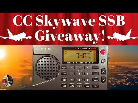 * Giveaway !* Win a C.Crane CC Skywave SSB Radio   2,000 Sub Celebration!
