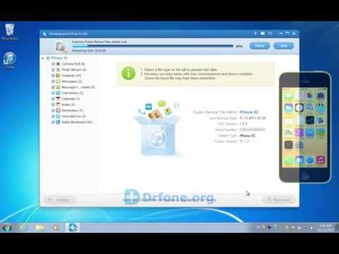 [iPhone 5C Recovery]: How to Retrieve/Recover Lost Notes on iPhone 5C from iTunes Backup