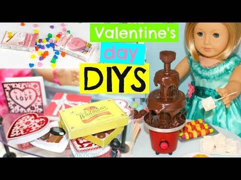 4 DIY Valentine's Day Gifts & Ideas for American Girl dolls