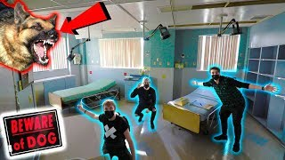 (Attack Dogs!) EXPLORING ABANDONED UNTOUCHED HOSPITAL