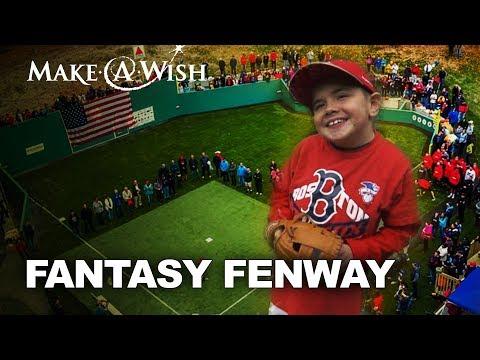 Wish Transformed Thomas' Backyard into Fenway Park - Make-A-Wish Connecticut