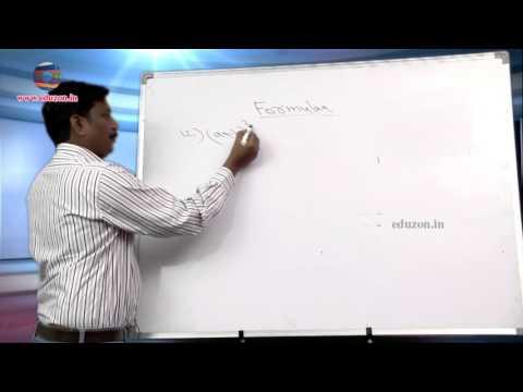 Mathematics Formulas (important)  for Examinations