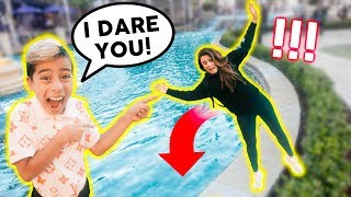 """""""YOU WON'T DO IT"""" Challenge In PUBLIC!! (WINNER GETS $10,000)   The Royalty Family"""