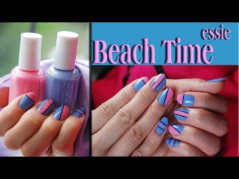 Beach Time Nail Design Tutorial. Nails Of Promise