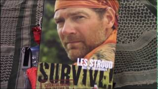 Les Stroud survival kit