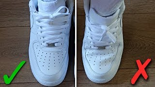 How To Prevent Creases in Air Force 1's (BEST WAY!)