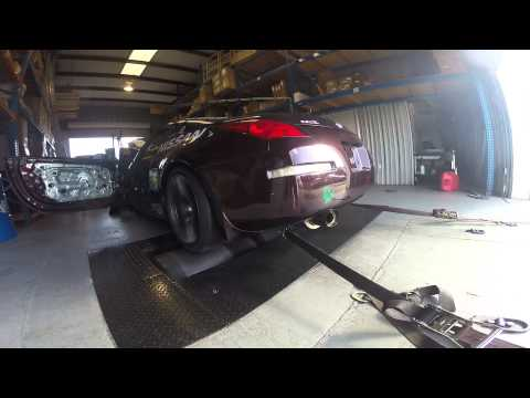 Tomei 272 Cams in 03 350Z w/Momentum exhaust Highest run was 291rwhp