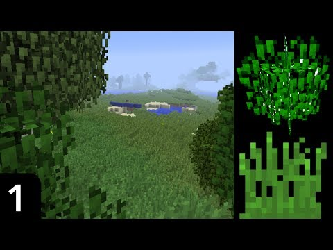 Minecraft - Better Grass and Leaves No Mods! (Custom Models Tutorial)