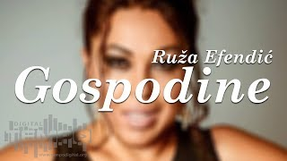 Ruza Efendic - Gospodine (Official Audio 2017)
