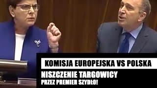 Beata Szydło zmiażdżyła Grzegorza Schetynę i obóz TARGOWICZAN!