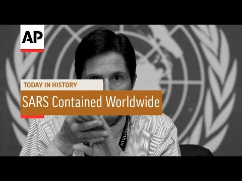 WHO Declares SARS Contained Worldwide - 2003 | Today in History | 5 July 16