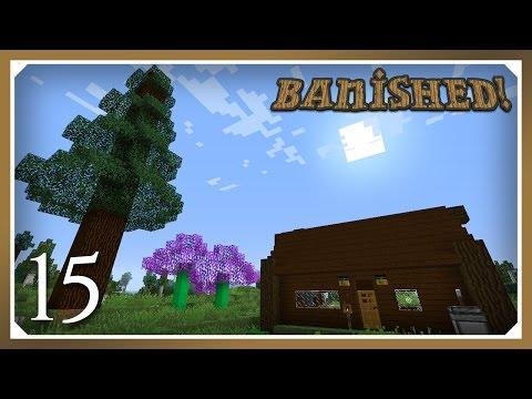 Minecraft Banished Modpack | Lumber Axe! | E15 (Harsh Survival Minecraft 1.10.2)