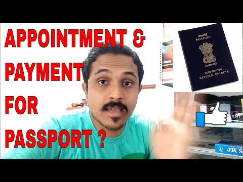 HOW TO BOOK APPOINTMENT & MAKE PAYMENT FOR PASSPORT ONLINE? (HINDI 2017)