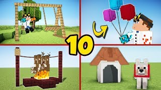 Download 10 Secret Minecraft Builds You Can Build As well! - Tutorial #1 Video