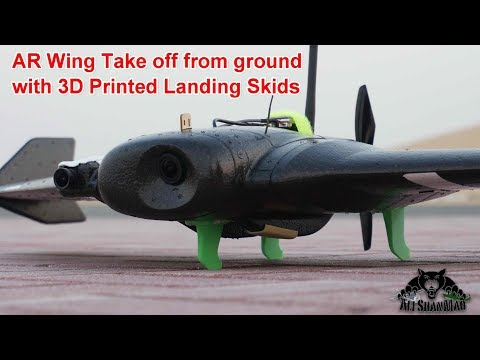 Download 3D Printed Landing Skids For AR Wing High Speed FPV