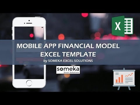 Mobile App Financial Model - Excel Template