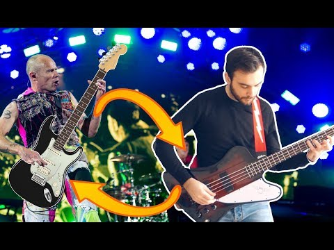 Snow (Hey Oh) BUT Bass And Guitar Are Swapped!