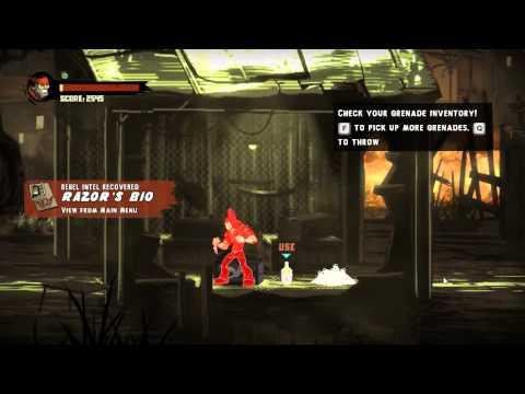 Shank 2 Walkthrough Level 1: The Dark Road Home [Commentary][HD]