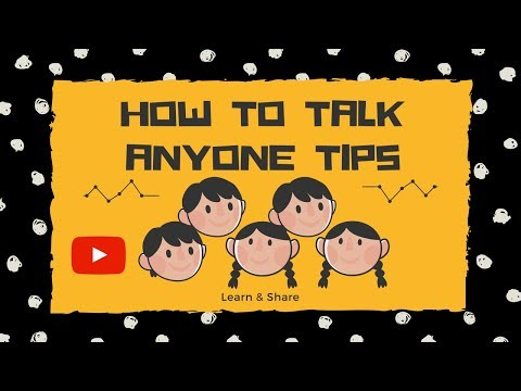 HOW TO TALK TO ANYONE TIPS