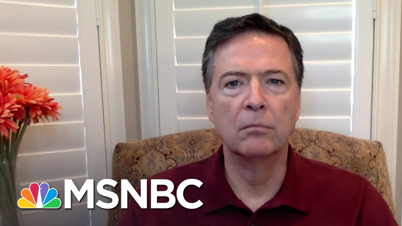Comey: 'Horrific Failure' To Protect Capitol Hill | Andrea Mitchell | MSNBC