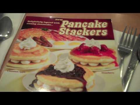 Cheese Cake Pancakes at IHOP
