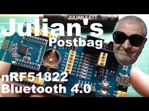 Julian's Postbag: #47 - nRF51822 Bluetooth 4.0 BLE Dev Kit