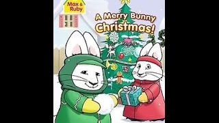Opening To Max & Ruby:A Merry Bunny Christmas 2007 DVD