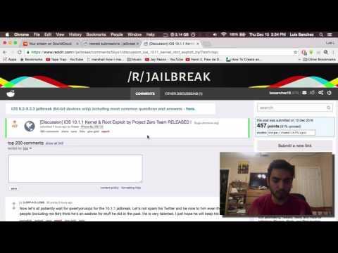 Información sobre el jailbreak para iOS 10.1.1 has downgrade AHORA