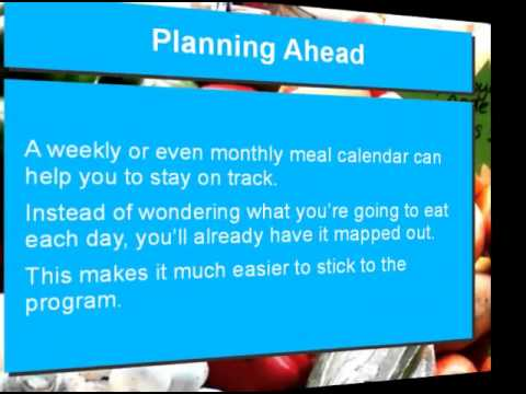 Planning Ahead on the Paleo Diet