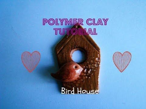 Polymer Clay Tutorial : Bird House ♥