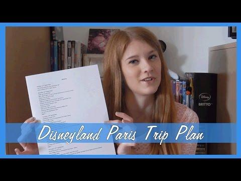 My Disneyland Paris Trip Plan