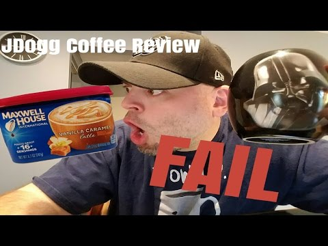 Instant Coffee review of the New Vanilla Caramel Latte by Maxwell House International