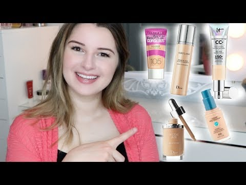 BEST FOUNDATIONS FOR DRY/ACNE SKIN