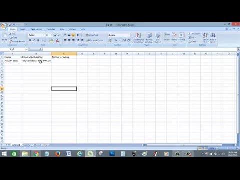 cara simpan contact database ke csv file how to save contact to CSV file
